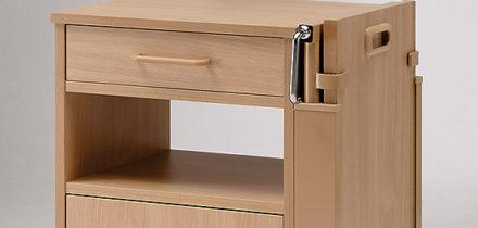 Nachtkastje Burmeier Cherusker detailfoto
