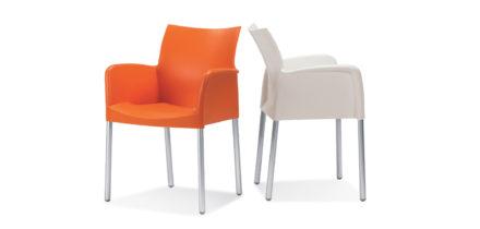 Ice 850 set stoelen met armleuning