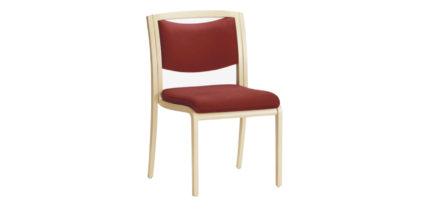 Opus 826B rood beklede stoel