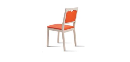 Sixty 2 stoel oranje