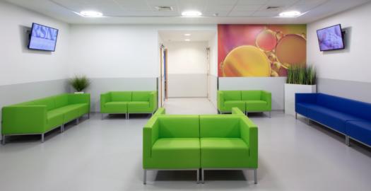 Hospital center de wallonie inrichting zorgmeubilair