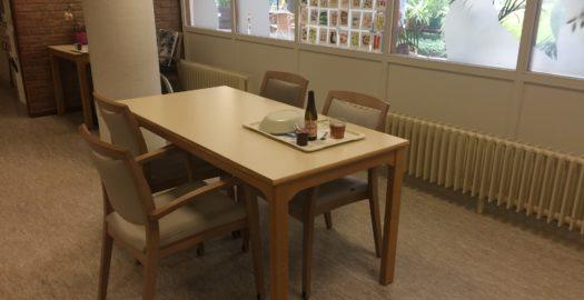 Realisatie foto met fandango stoelen wzc Nazareth
